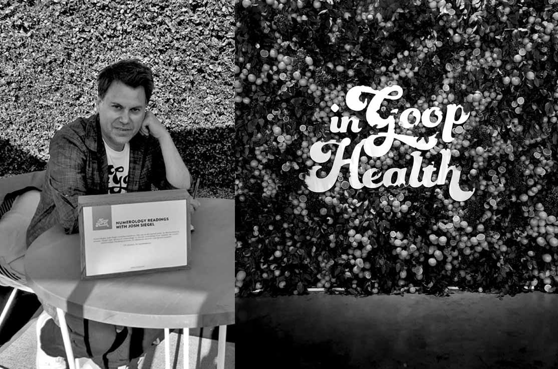 Numerologist Josh Siegel - In Goop Health